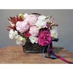 Цветочная корзина Долина цветов